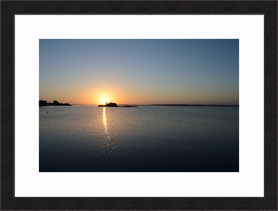 Lough Ree Sunrise Framed Print
